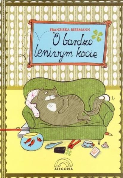 o bardzo leniwym kocie