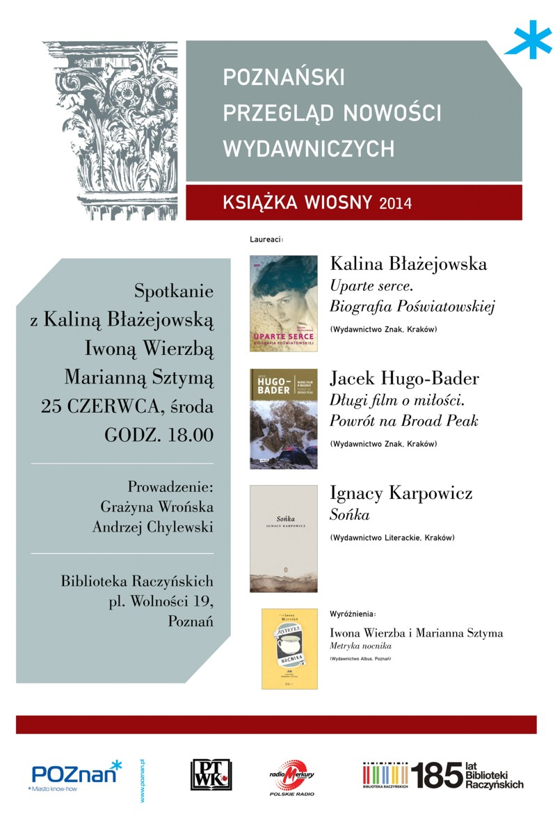 Książka Wiosny 2014