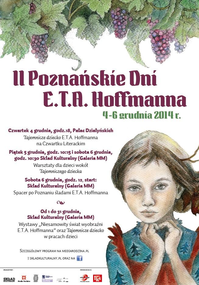 dni hoffmanna tajemnicze dziecko plakat