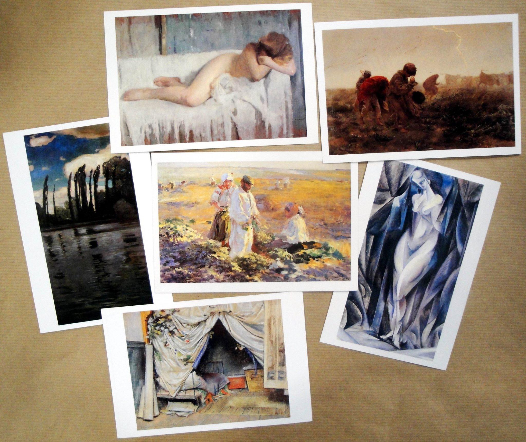 Malarstwo-kartki